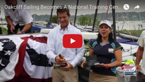 Oakcliff Sailing Becomes a US Sailing Team Sperry Top-Sider National Training Center
