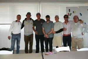 OA Bill Simon, Dave Perry, Steve Natvig, Jon Singsen, Doug McLean, Chris Museler and PRO Todd Field