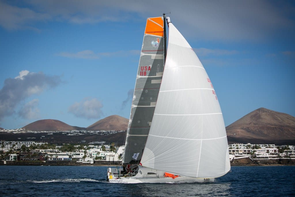 USA 118 placed first in class in the 2014 RORC Transatlantic/James Mitchell Photography