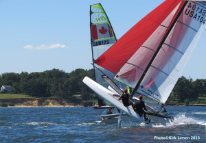 nacra ridin' high