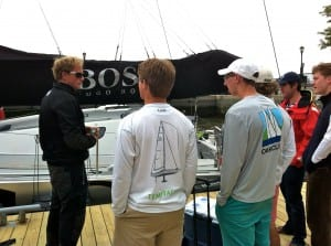 Ryan Breymaier talks about Hugo Boss with our Saplings