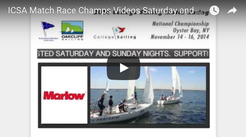 ICSA Sloop Nationals Video Recap