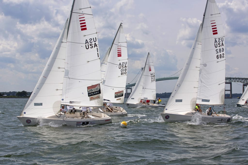 C. Thomas Clagett Jr. Memorial Regatta. Fort Adams, Newport, RI