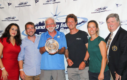 40th Around Long Island Race Brings Five Awards Despite Light Winds