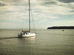 Farr 40 Blue Delivery to Newport