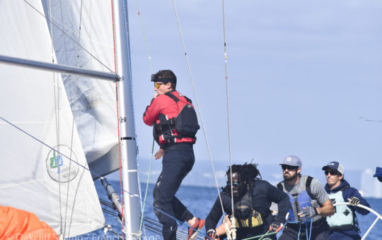 Living on the Edge at the US Match Racing Championship