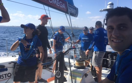 Ethan & Pat in Alicante for the Start of the Volvo